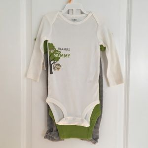 Carter's 3 Piece Set (12 Mos)